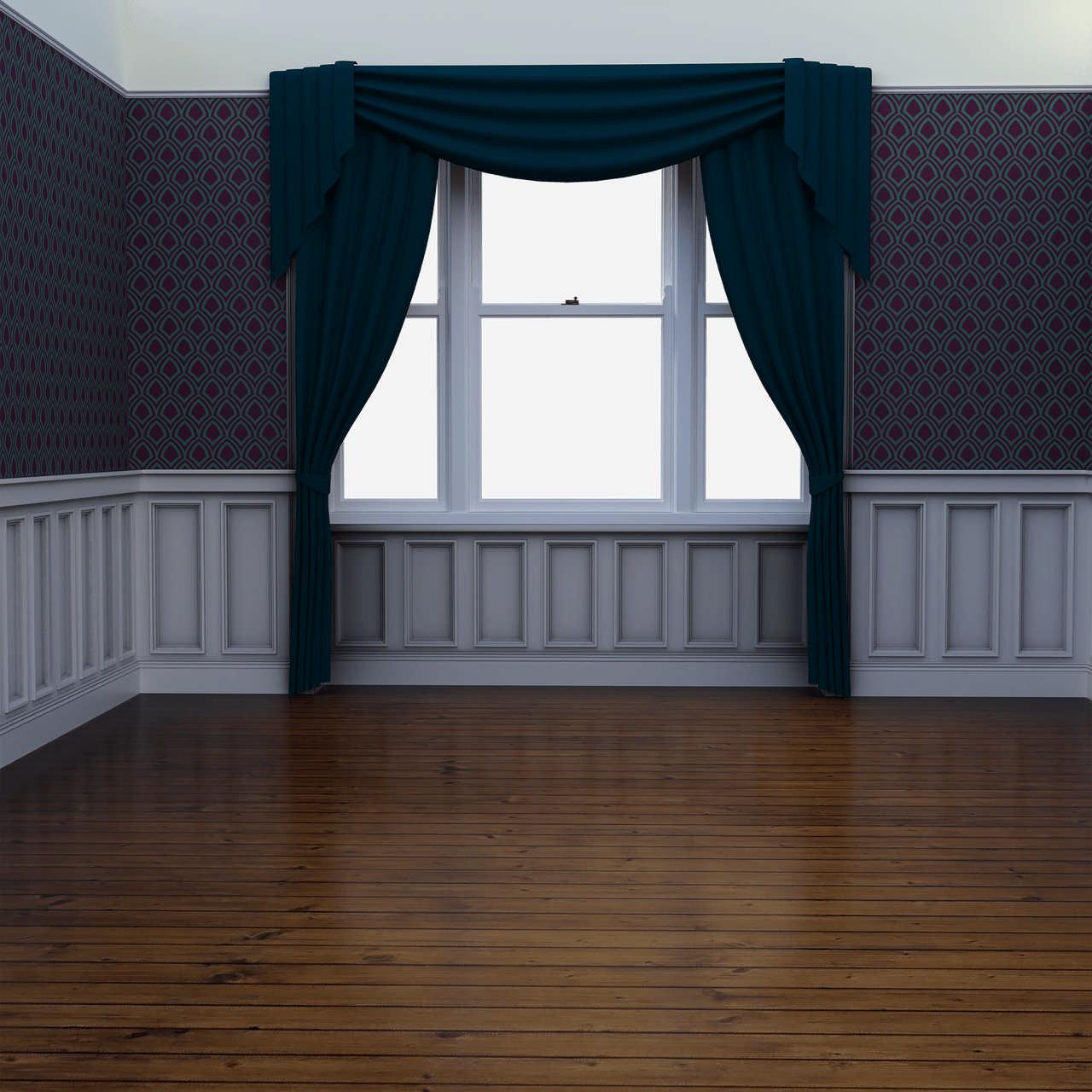 En tom leilighet etter en   rydding  av dødsbo   og rengjørings.